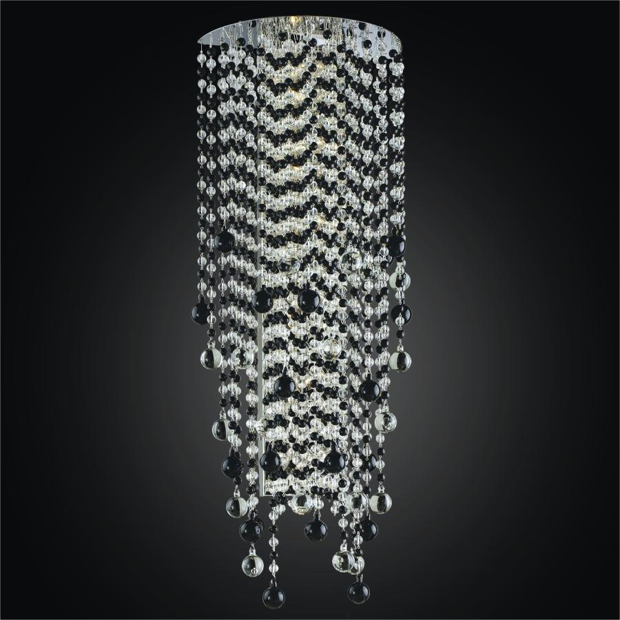 486ab0b53e95b Crystal Rain Wall Sconce : 566JW6LSP-7 | De Light Ville